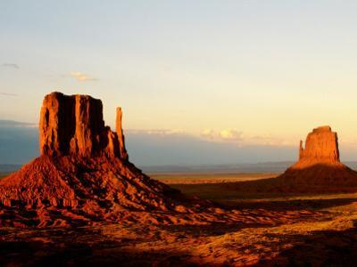 Monument Valley in Late Afternoon by Douglas Steakley