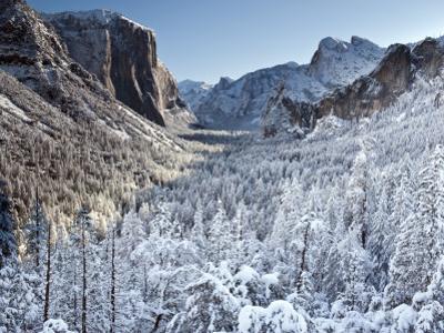 Winter in Yosemite National Park by Douglas Steakley