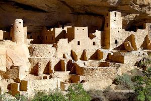 Cliff Palace at Mesa Verde by Douglas Taylor