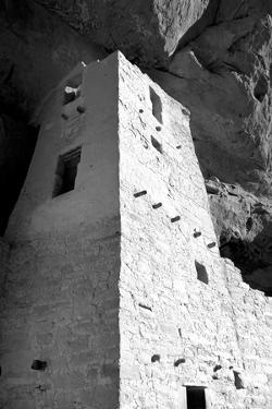 Cliff Palace Detail I BW by Douglas Taylor