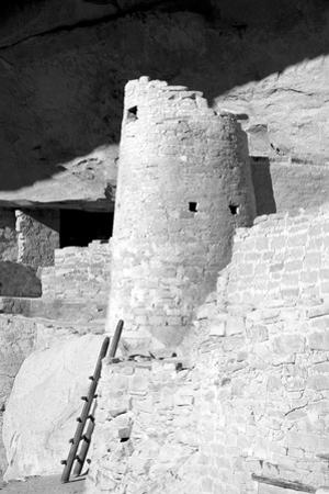 Cliff Palace Detail II BW by Douglas Taylor