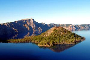 Crater Lake I by Douglas Taylor