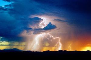 Evening Storm by Douglas Taylor