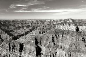 Grand Canyon Dawn II BW by Douglas Taylor