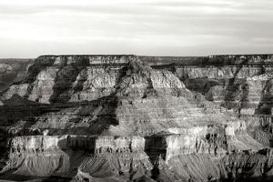 Grand Canyon Dawn III BW by Douglas Taylor