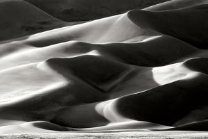 Great Sand Dunes II BW by Douglas Taylor