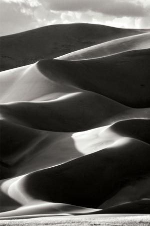 Great Sand Dunes IV BW