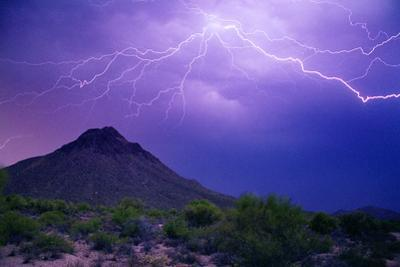 Mountain Lightning by Douglas Taylor