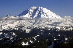Mt Rainier North Face by Douglas Taylor