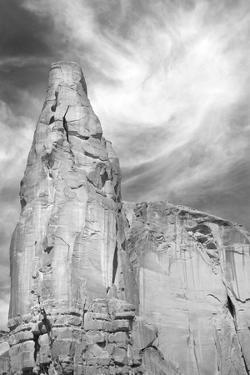 Navajo Skies BW by Douglas Taylor