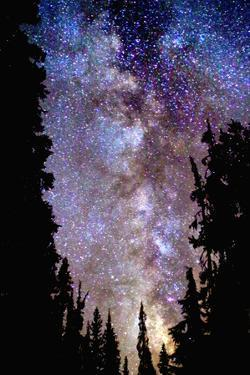 Night at Crater Lake by Douglas Taylor