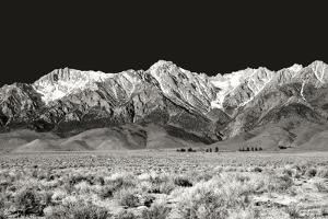 Sierra Nevada Mountains I BW by Douglas Taylor