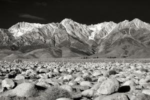 Sierra Nevada Mountains II BW by Douglas Taylor