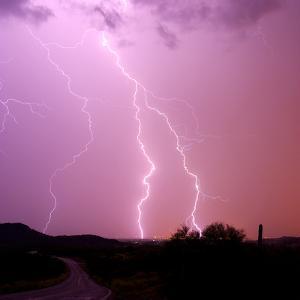 Summer Lightning II by Douglas Taylor