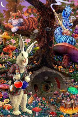 Down the Rabbit Hole - Alice in Wonderland