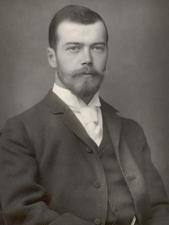 Nikolay Aleksandrovich Tsar Nicolas II Ruled 1894-1917 by Downey