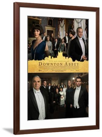 Downton Abbey--Framed Art Print
