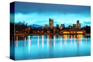 Downtown Denver Colorado Dusk