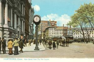 Downtown Hartford, Connecticut