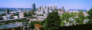 Downtown Skyline, Cincinnati, Hamilton County, Ohio, USA
