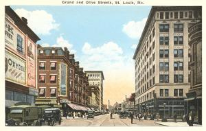 Downtown St. Louis, Missouri