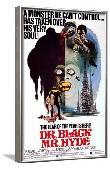 Dr. Black, Mr. Hyde, Bernie Casey, 1976--Framed Photo