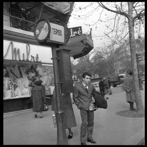 Claude Nougaro in Paris by DR