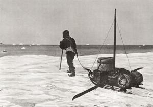 Dr. Douglas Mawson Arriving Back Too Late for His Ship the Sy Aurora, During His Australasian…
