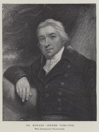 Dr Edward Jenner (1749-1823), Who Introduced Vaccination