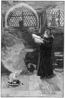 Dr Faustus (1488-154) Conjuring Up Mephistopheles