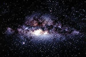Central Milky Way In Constellation Sagittarius by Dr. Fred Espenak
