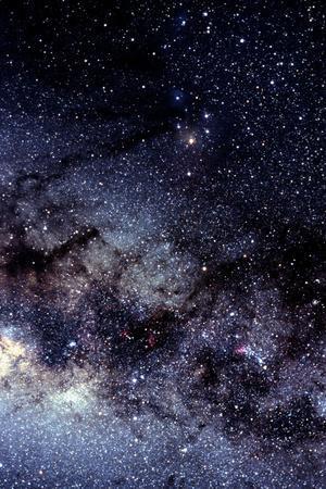 Optical Image of the Scorpius Constellation