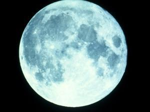 Telescope Photo of Full Moon From Earth by Dr. Fred Espenak