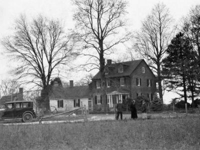 View of Cross Manor, the Oldest House in Maryland