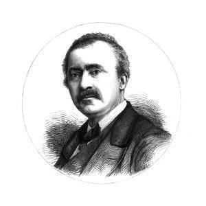 Dr Heinrich Schliemann, German Explorer and Archaeologist, 19th Century