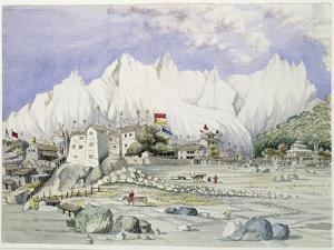 T611 the Town of Keerung, May 1855 by Dr. Henry Ambrose Oldfield