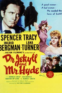 Dr. Jekyll and Mr. Hyde - Movie Poster Reproduction