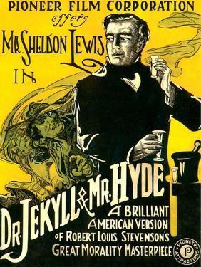 Dr. Jekyll & Mr. Hyde, Sheldon Lewis, 1920