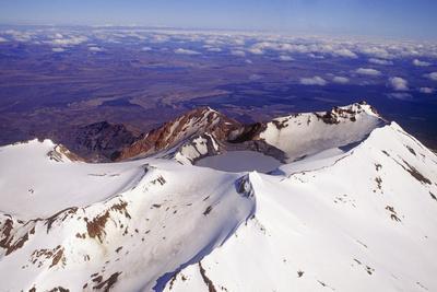 Mount Ruapehu Volcano, New Zealand