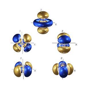 5d Electron Orbitals by Dr. Mark J.