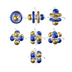 5f Electron Orbitals, Cubic Set by Dr. Mark J.