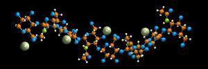 Hyaluronic Acid, Molecular Model by Dr. Mark J.