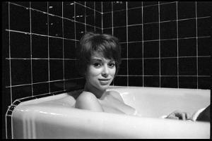 Mireille Darc in Her Bath, 1966 by DR