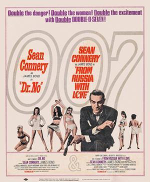 Dr. No, 1962; Double Bill, to Russia with Love, 1963