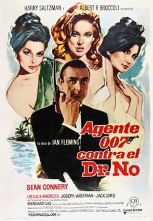 Dr. No, Sean Connery, 1962