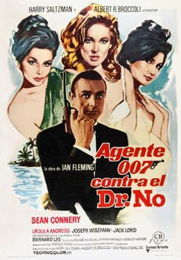 Dr. No, Sean Connery, 1962