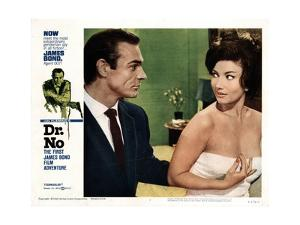 Dr. No, Sean Connery, Zena Marshall, 1962