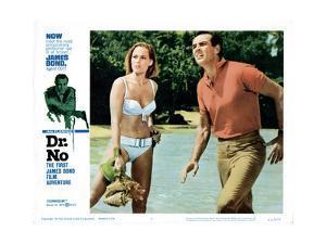Dr. No, Ursula Andress, Sean Connery, 1962