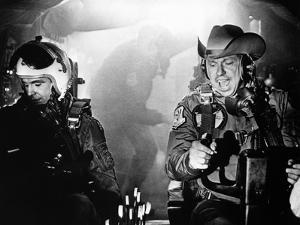 "Dr STRANGELOVE, 1964 directed by STANLEY KUBRICK Slim Pickens plays Commandant T.J. ""King"" Kong (b/"