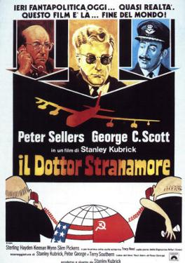 Dr. Strangelove, Italian Movie Poster, 1964